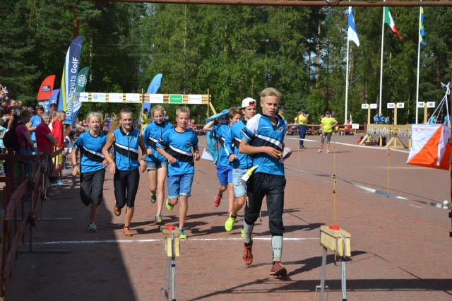 KS 1-joukkue NuJu2014 sijoittuen neljänneksi.