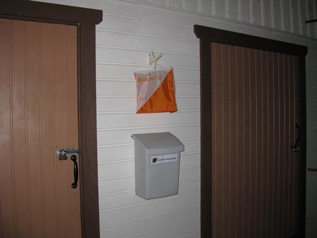 Laatikko seinällä