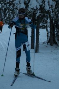 Niklas Heikkilä avasi hiihtosuunnistuskauden hienosti. Tuloksena Ensilumen rasteilla yhteistulosten toinen sija.