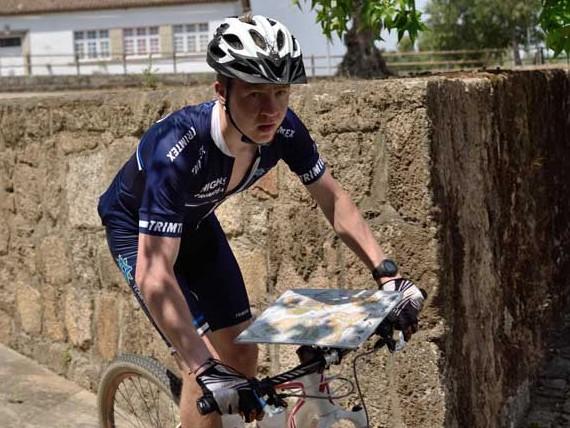 Eerik Nurminen EM-kultaa pysun sprintissä (Kuva SSL)