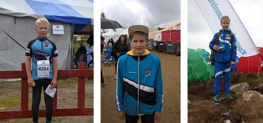KRV-menstyjiä poikasarjoissa olivat Jere Pylvänäinen, Aaro Ojala ja Lasse Mattila.