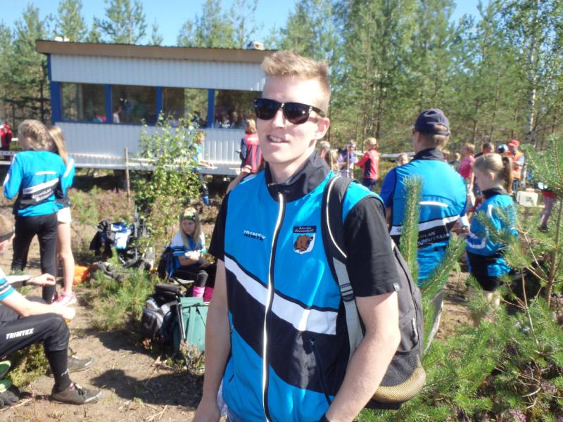 Jukka Tani voi olla tyytyväinen AM-kisan tulokseen: hopeaa.