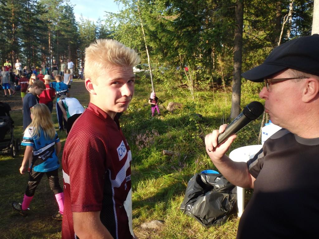 Juoksulla ratkesi, totesi Antti Pasi kuuluttajan haastattelussa.