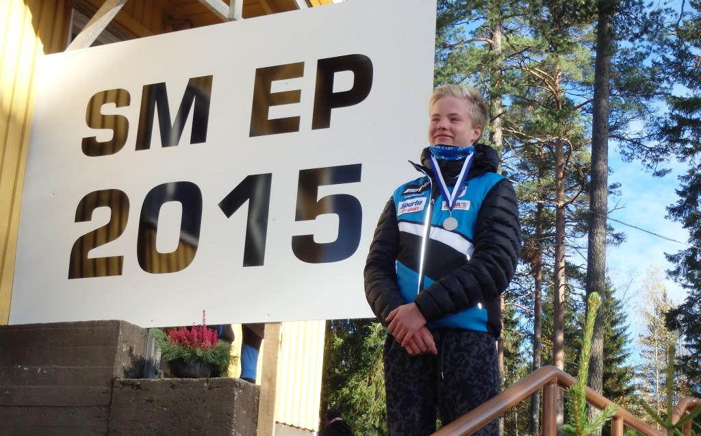 Niklas Heikkilä oli yksi SM-pisteitä roppakaupalla haalineista nuorista
