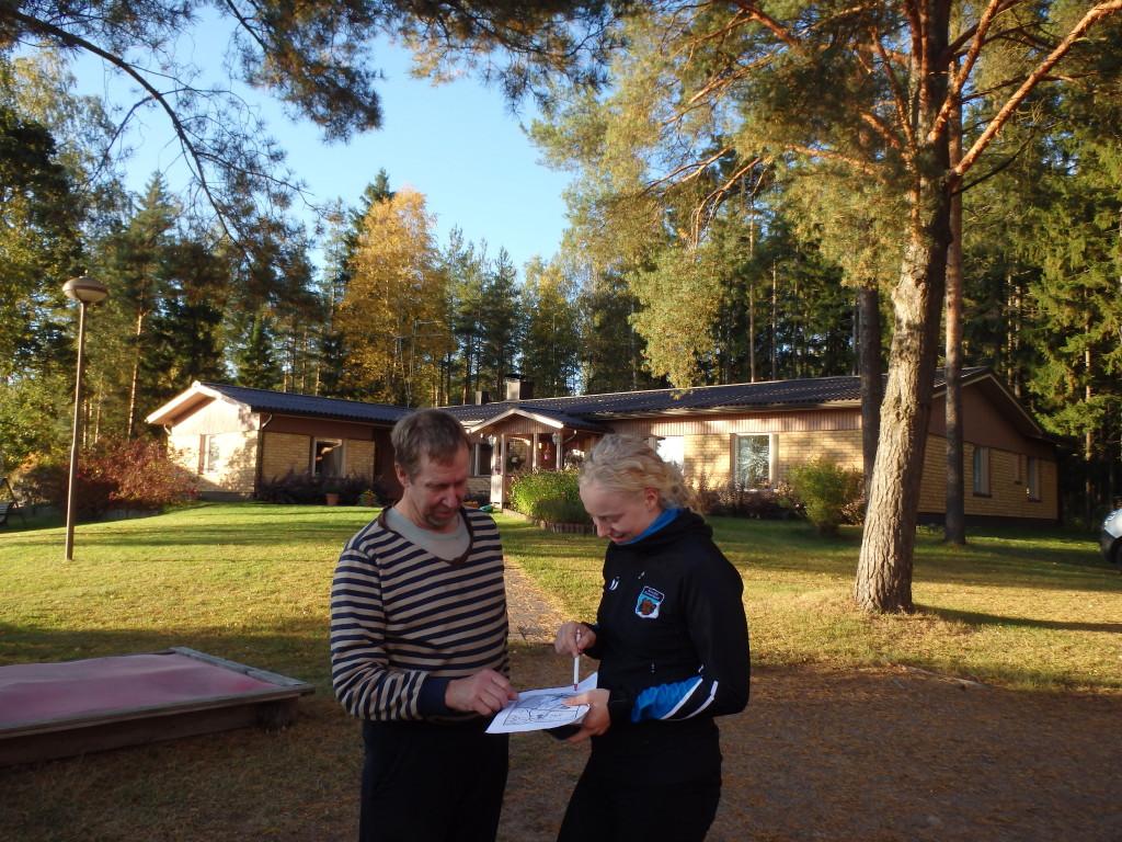 Kilpailukeskuksen isäntä Matti Iso-Metsälä on ollut erinomainen apu kisakeskuksen suunnittelussa.