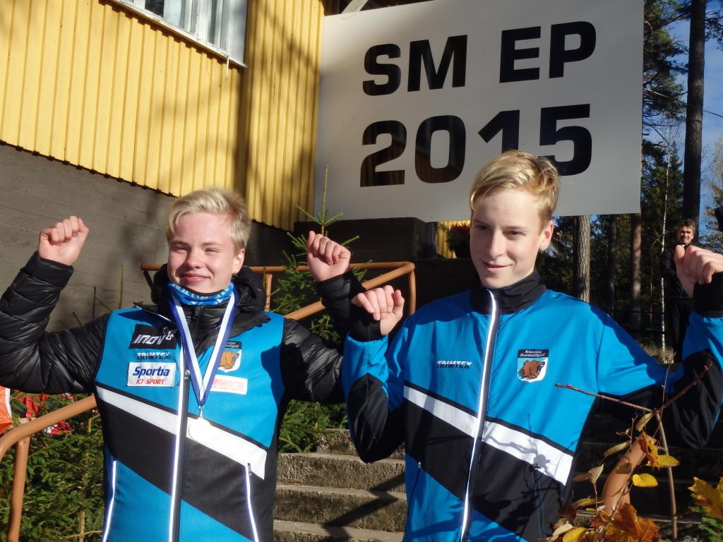 Pojilla oli SM-erikoispitkällä mainio tulos. Niklas Heikkilä mestariksi ja Pyry Mattila neljäs.
