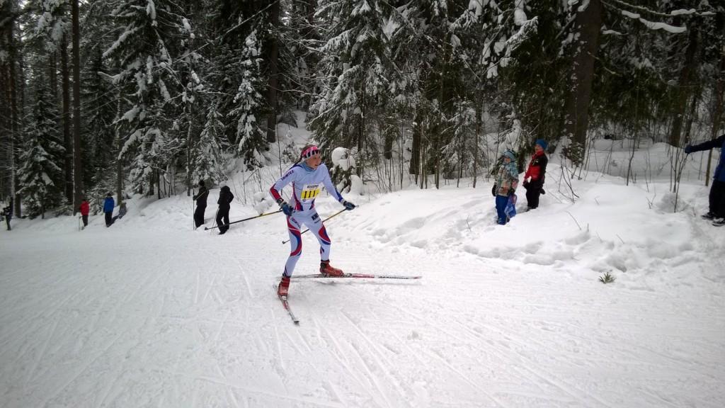 Elisa Mattila kulkee kovaa kesät talvet